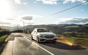 Picture 2015, UK-spec, W205, AMG, Mercedes, AMG, Mercedes, C 63 S