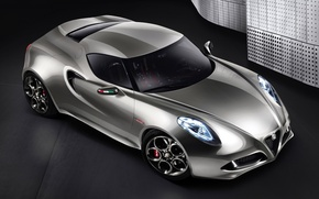 Wallpaper car, Concept, Alfa Romeo