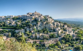 Picture the sky, mountains, France, home, Provence, Proud
