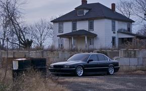 Picture Black, BMW, Boomer, BMW, 740, Black, E38, Bimmer