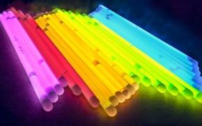 Wallpaper light, color, tube