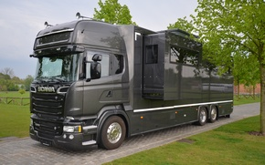 Picture Scania, caravan, GIGASPACE