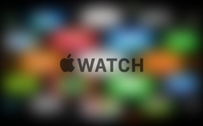 Picture Apple, iPhone, Logo, Color, iOS, iMac, Retina, Blurred, Apple Watch