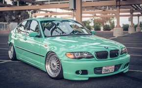 Picture BMW, BMW, three, Drives, E46, 3 series, Stance, 325i