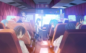 Picture bus, pioneers, everlasting summer, endless summer, iichan-eroge