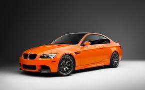 Picture BMW, orange, E92