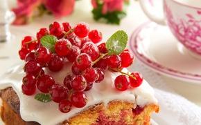 Picture food, Cup, cake, cake, fruit, cake, dessert, food, cup, sweet, fruits, dessert, red currant, red …
