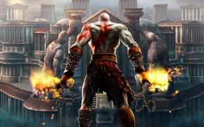 Picture game, Kratos, god of war
