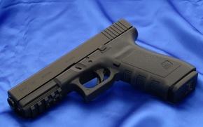 Picture Gun, Austria, Wallpaper, Weapons, Gun, Glock, Glock, Wallpapers, Canvas, Weapons, Blue, 21СФ, 21SF