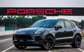 Picture Porsche, Porsche, crossover, Macan, makan