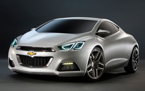 Picture the concept, car, Chevrolet tru 140S