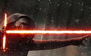 Picture Star Wars, Dark, Blizzard, Wood, Winter, Black, Warrior, Snow, Laser, The, Smoke, Jedi, Force, EXCLUSIVE, …