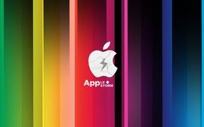 Wallpaper apple, Apple, storm