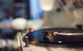 Picture music, record, gramophone