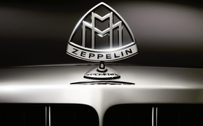 Wallpaper Zeppelin, Maybach, Logo