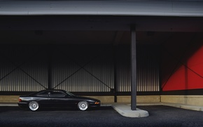 Picture black, bmw, BMW, profile, canopy, wheels, drives, black, bbs, e31, BBC, 840cl