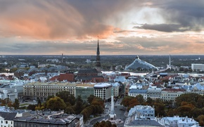 Picture capital, Riga, Latvia, Riga, The Baltic States