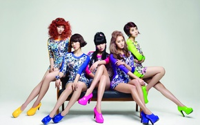 Picture music, girls, Asian girls, South Korea, Kpop, 4Minute