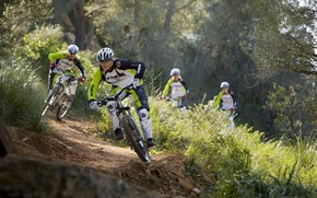 Picture dirt, bike, mountain, rocks, hill, freeride, downhill, mtb, crazy, mountainbike