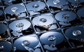 Picture computer, hard drives, digital storage