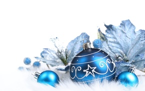 Picture balls, New year, Christmas decorations