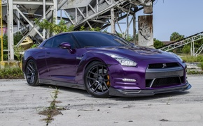 Picture GTR, NISSAN, WHEELS, VMB5, VELGEN, PURPLE