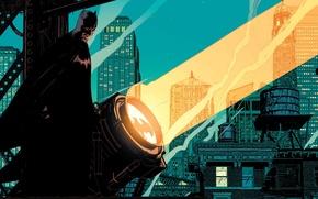 Picture light, home, Batman, signal, DC Comics, Gotham