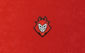 Picture logo, Counter-Strike, League of Legends, csgo, Global Offensive, red background, eSports, Heroes of the Storm, …