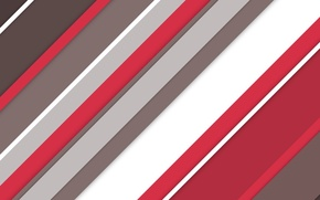 Picture white, line, red, abstraction, background