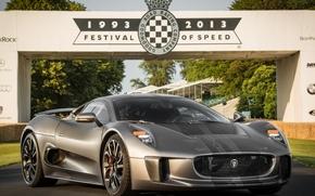 Picture Jaguar, Hybrid, Supercar, 2014, C-X75