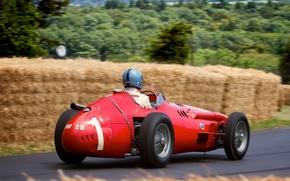 Picture machine, race, sport, Maserati 250F