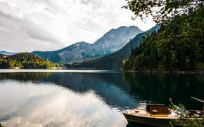 Picture Mountains, Abkhazia, Lake Ritsa, Stalin's Dacha