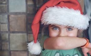 Picture child, girl, cap