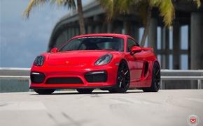 Picture Porsche, Forged, cayman, Vossen, GT4, VPS-315