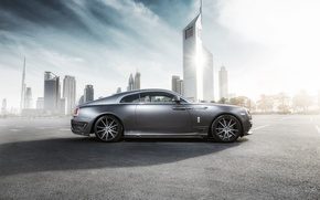 Picture Rolls-Royce, 2014, rolls-Royce, Wraith, Ares Design