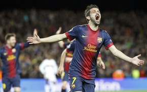 Picture Sport, Football, Barcelona, Football, Barcelona, David Villa, David Villa, Camp Nou, Camp Nou