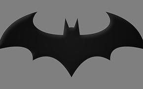 Picture Batman, symbol, Arkham