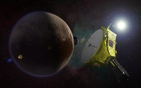 "Picture planet, station, Pluto, NASA, automatic, ""New horizons"", interplanetary"