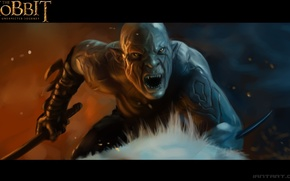 Picture Hobbit, The Hobbit: An Unexpected Journey, Warg, azog the defiler