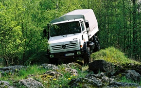 Picture greens, mercedes-benz, unimog, u5000
