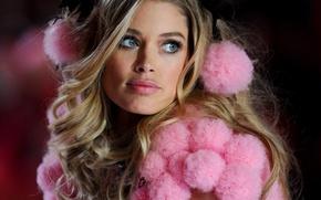 Picture model, Doutzen Kroes, show, Victoria's Secret