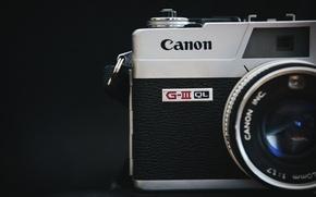 Picture macro, background, camera, Canon