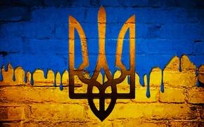 Picture coat of arms, Ukraine, Ukraine