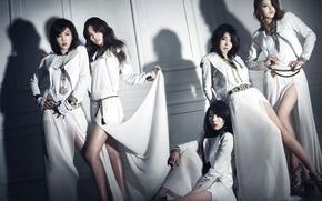 Picture music, girls, Asian girls, South Korea, k-pop, 4Minute, Kim Hyun, Kim Hyun