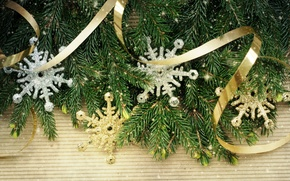 Picture decoration, snowflakes, tree, Christmas, decoration, xmas, Merry, Christmas. New Year