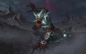 Picture monster, armor, fan art, dota 2, lifestealer, does aix