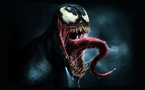 Picture language, eyes, fear, power, teeth, Venom, Venom, DanLuVisiArt