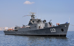 Picture ship, Azerbaijan, Navy, guard, project 159-A, G121