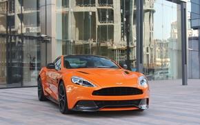 Picture Aston Martin, Orange, Vanquish