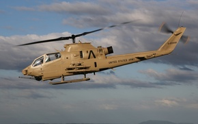 Picture the sky, flight, helicopter, combat